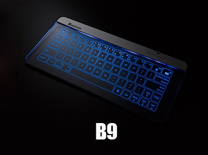 Bluetooth Glass Keyboard